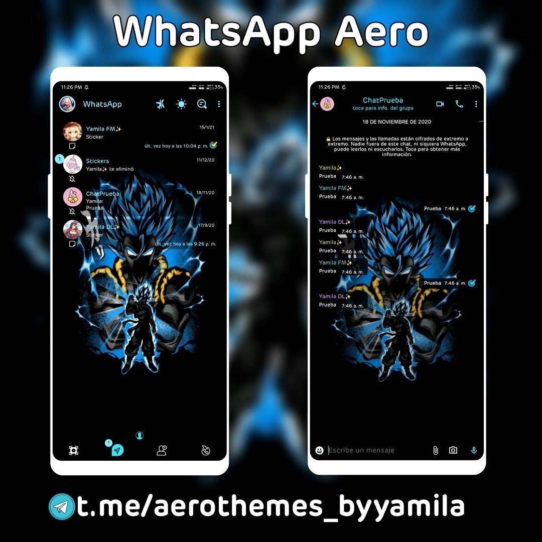 Aero ✨ Esp DBZ ByYamila 💜   WhatsApp Aero Official Forum
